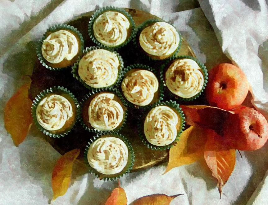 Recipe: Apple Cinnamon cupcakes